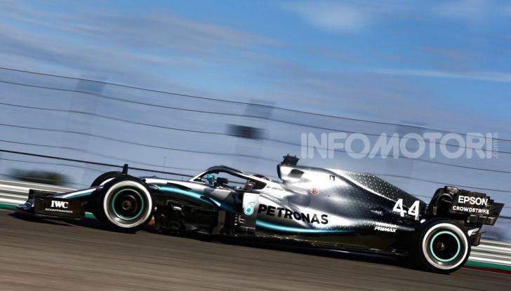 F1 2019, GP degli Stati Uniti: Hamilton si impone nelle libere di Austin davanti a Leclerc e Verstappen - Foto 1 di 9