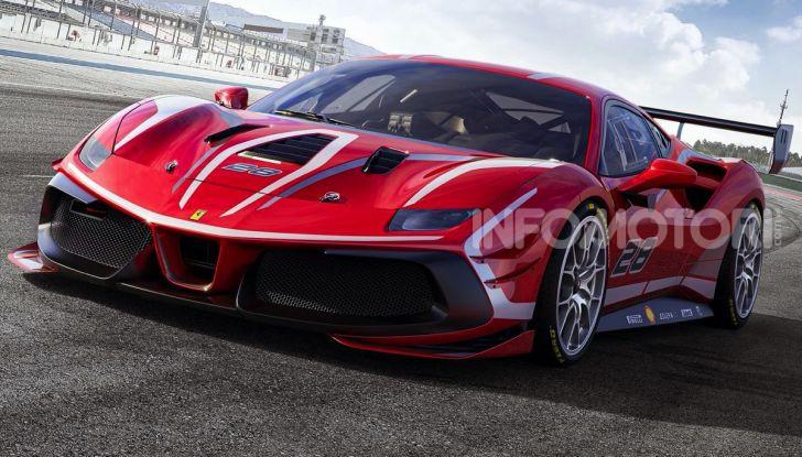 Ferrari488 Challenge Evo: da Maranello un nuovo bolide per la pista - Foto 1 di 5