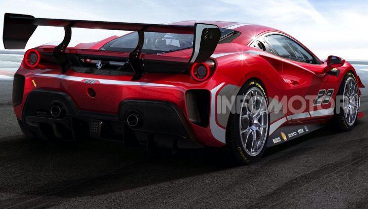 Ferrari488 Challenge Evo: da Maranello un nuovo bolide per la pista - Foto 3 di 5
