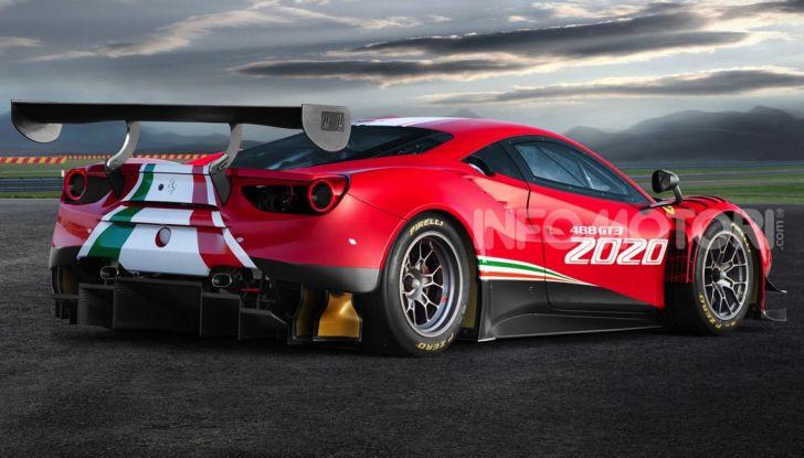 Ferrari 488 GT3 EVO 2020: potenza, affidabilità e prestazioni - Foto 8 di 11
