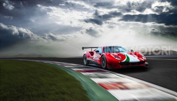 Ferrari 488 GT3 EVO 2020: potenza, affidabilità e prestazioni - Foto 6 di 11