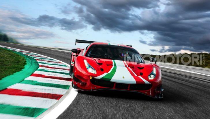 Ferrari 488 GT3 EVO 2020: potenza, affidabilità e prestazioni - Foto 1 di 11