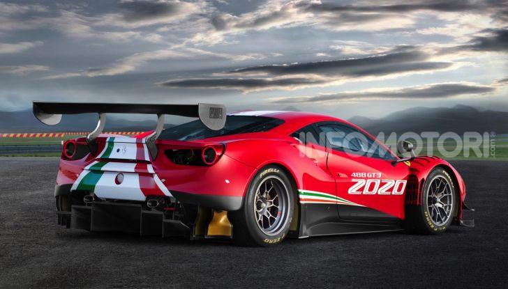 Ferrari 488 GT3 EVO 2020: potenza, affidabilità e prestazioni - Foto 2 di 11