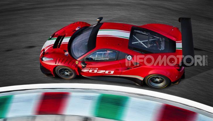 Ferrari 488 GT3 EVO 2020: potenza, affidabilità e prestazioni - Foto 4 di 11