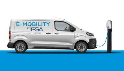 Peugeot Expert, Citroen Jumpy, Opel Vivaro e Vauxhall Vivaro arrivano in versione 100% elettrica