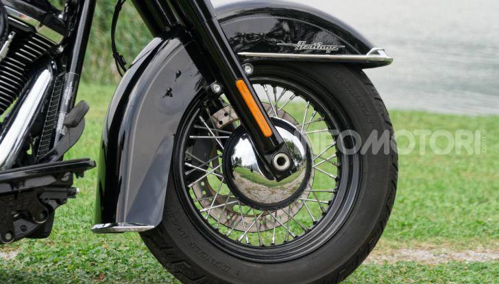 Prova Harley-Davidson Heritage Classic 114, la softail touring? - Foto 2 di 54
