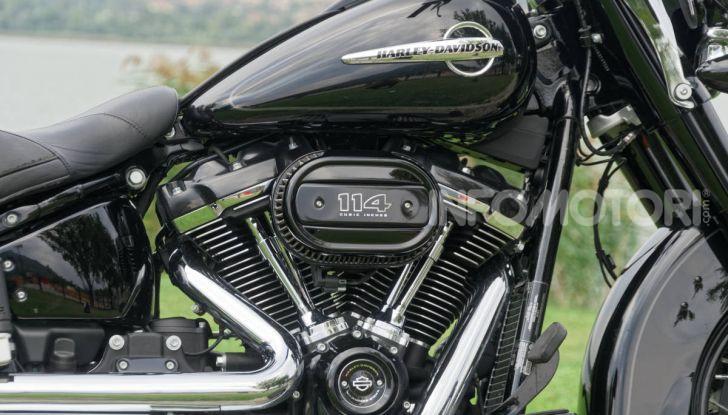 Prova Harley-Davidson Heritage Classic 114, la softail touring? - Foto 3 di 54