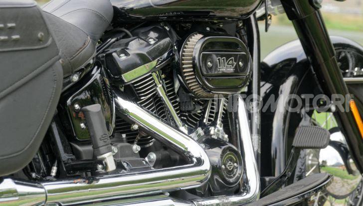 Prova Harley-Davidson Heritage Classic 114, la softail touring? - Foto 8 di 54