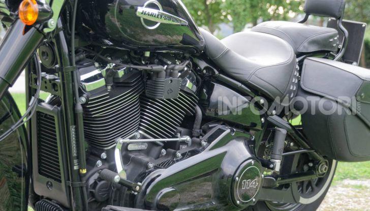 Prova Harley-Davidson Heritage Classic 114, la softail touring? - Foto 20 di 54