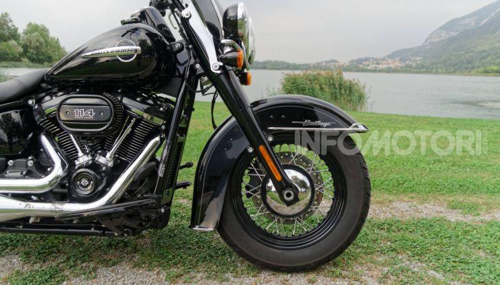 Prova Harley-Davidson Heritage Classic 114, la softail touring? - Foto 32 di 54