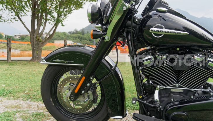 Prova Harley-Davidson Heritage Classic 114, la softail touring? - Foto 38 di 54