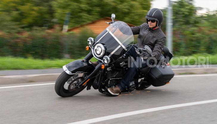 Prova Harley-Davidson Heritage Classic 114, la softail touring? - Foto 43 di 54