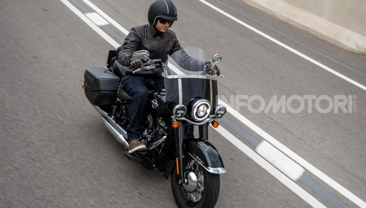 Prova Harley-Davidson Heritage Classic 114, la softail touring? - Foto 47 di 54
