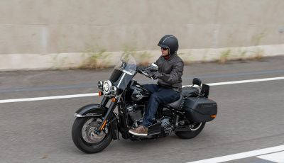 Prova Harley-Davidson Heritage Classic 114, la softail touring?
