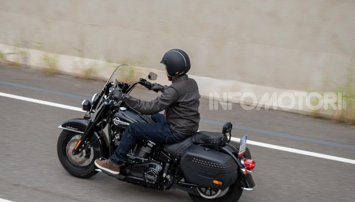 Prova Harley-Davidson Heritage Classic 114, la softail touring? - Foto 50 di 54
