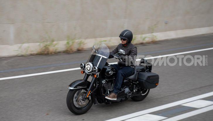 Prova Harley-Davidson Heritage Classic 114, la softail touring? - Foto 53 di 54