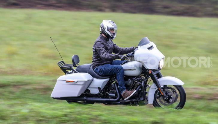 Prova gamma Touring 2020 Harley-Davidson: tecnologia e tradizione! - Foto 2 di 84