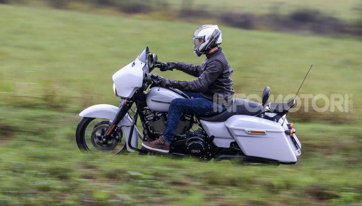 Prova gamma Touring 2020 Harley-Davidson: tecnologia e tradizione! - Foto 5 di 84
