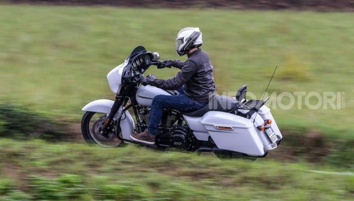 Prova gamma Touring 2020 Harley-Davidson: tecnologia e tradizione! - Foto 7 di 84