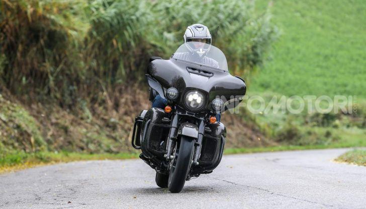 Prova gamma Touring 2020 Harley-Davidson: tecnologia e tradizione! - Foto 10 di 84