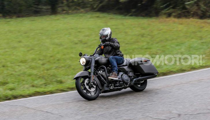 Prova gamma Touring 2020 Harley-Davidson: tecnologia e tradizione! - Foto 11 di 84