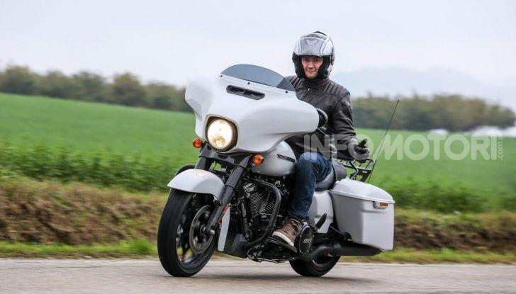 Prova gamma Touring 2020 Harley-Davidson: tecnologia e tradizione! - Foto 14 di 84