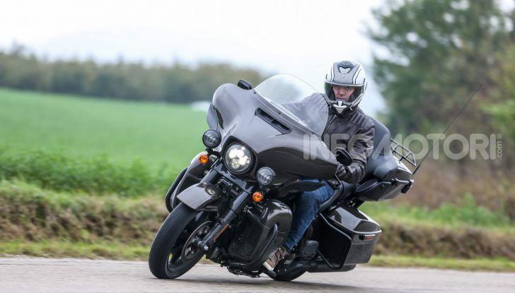 Prova gamma Touring 2020 Harley-Davidson: tecnologia e tradizione! - Foto 16 di 84