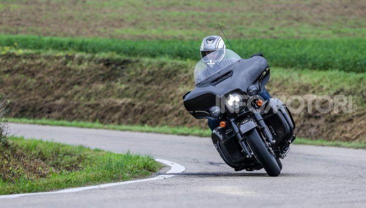Prova gamma Touring 2020 Harley-Davidson: tecnologia e tradizione! - Foto 17 di 84