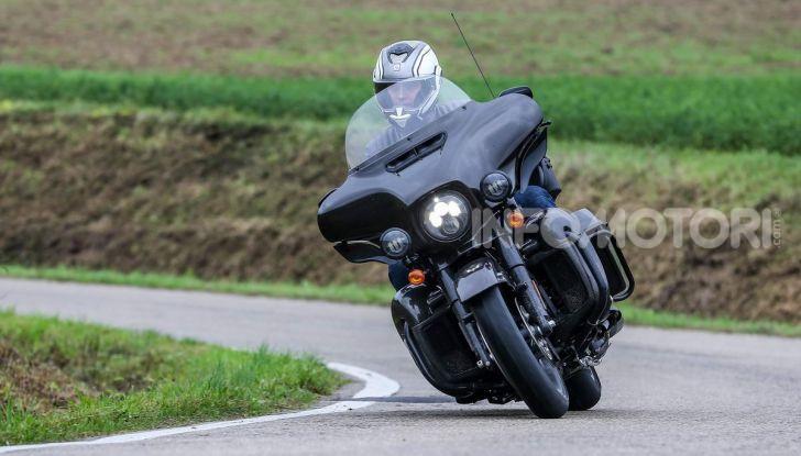 Prova gamma Touring 2020 Harley-Davidson: tecnologia e tradizione! - Foto 19 di 84
