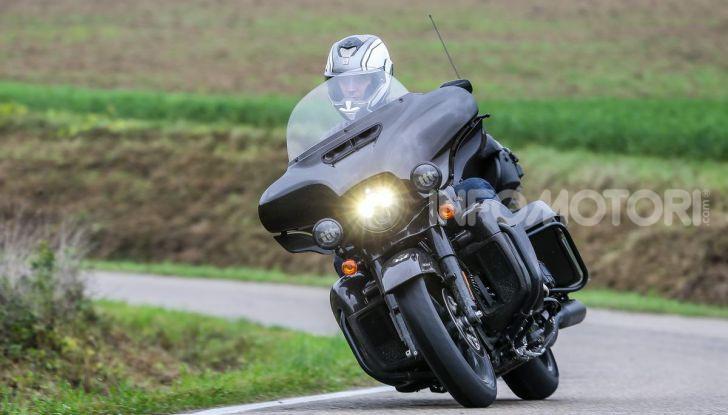 Prova gamma Touring 2020 Harley-Davidson: tecnologia e tradizione! - Foto 20 di 84