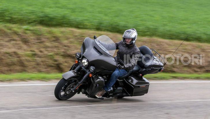 Prova gamma Touring 2020 Harley-Davidson: tecnologia e tradizione! - Foto 21 di 84