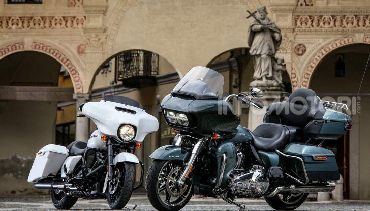 Prova gamma Touring 2020 Harley-Davidson: tecnologia e tradizione! - Foto 22 di 84