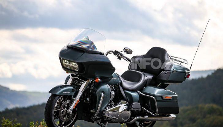 Prova gamma Touring 2020 Harley-Davidson: tecnologia e tradizione! - Foto 24 di 84
