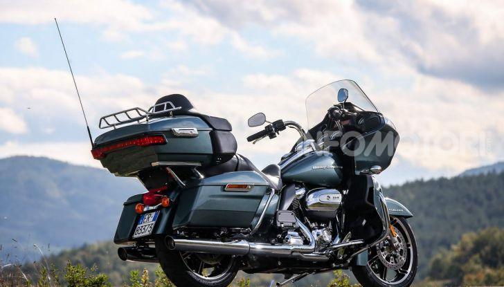 Prova gamma Touring 2020 Harley-Davidson: tecnologia e tradizione! - Foto 25 di 84