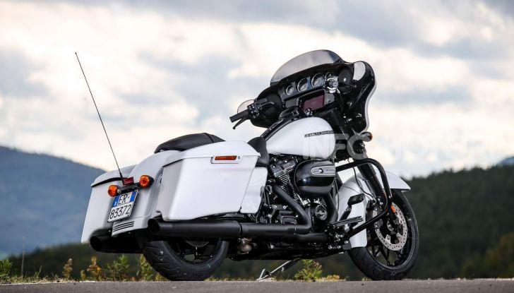Prova gamma Touring 2020 Harley-Davidson: tecnologia e tradizione! - Foto 26 di 84