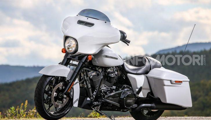 Prova gamma Touring 2020 Harley-Davidson: tecnologia e tradizione! - Foto 27 di 84