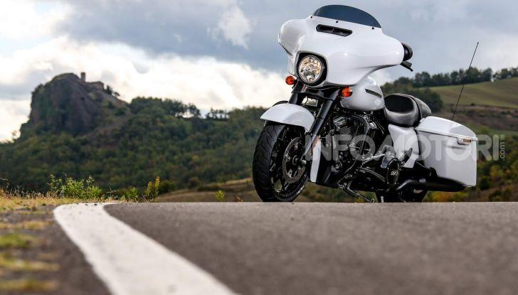 Prova gamma Touring 2020 Harley-Davidson: tecnologia e tradizione! - Foto 28 di 84