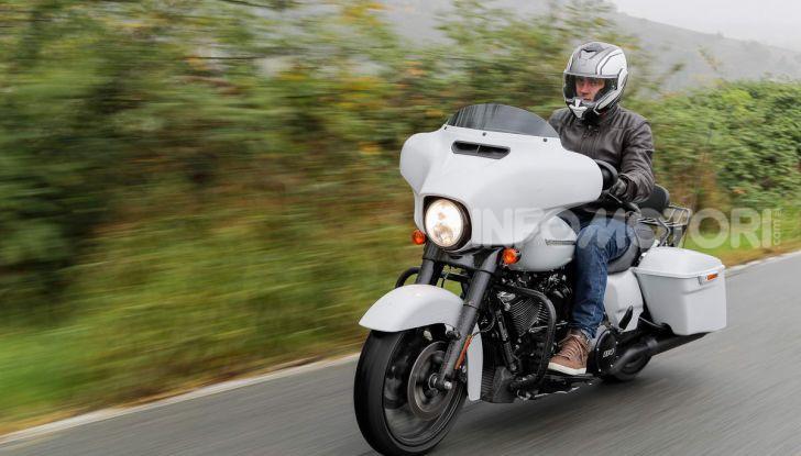 Prova gamma Touring 2020 Harley-Davidson: tecnologia e tradizione! - Foto 31 di 84
