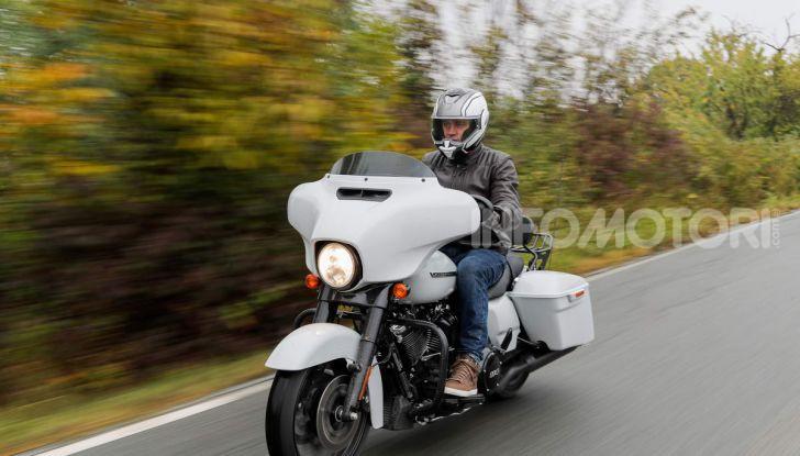 Prova gamma Touring 2020 Harley-Davidson: tecnologia e tradizione! - Foto 32 di 84