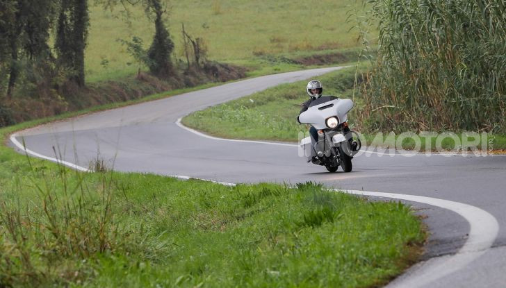 Prova gamma Touring 2020 Harley-Davidson: tecnologia e tradizione! - Foto 39 di 84