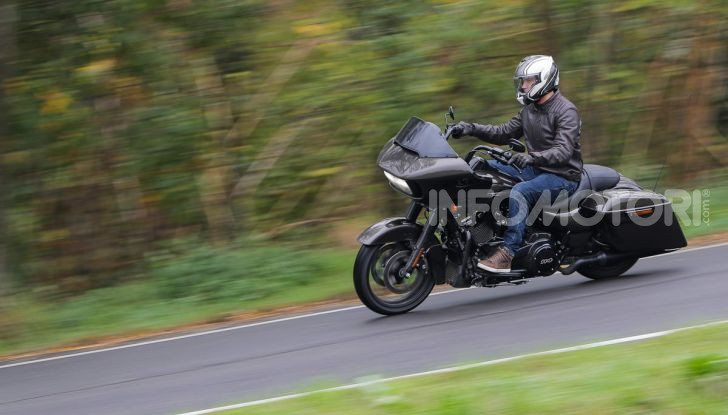 Prova gamma Touring 2020 Harley-Davidson: tecnologia e tradizione! - Foto 42 di 84