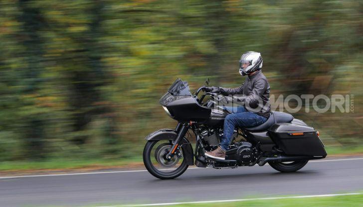 Prova gamma Touring 2020 Harley-Davidson: tecnologia e tradizione! - Foto 43 di 84