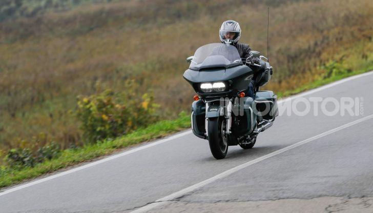 Prova gamma Touring 2020 Harley-Davidson: tecnologia e tradizione! - Foto 50 di 84