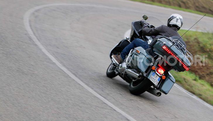 Prova gamma Touring 2020 Harley-Davidson: tecnologia e tradizione! - Foto 51 di 84