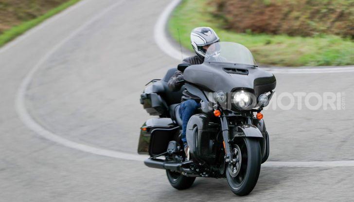 Prova gamma Touring 2020 Harley-Davidson: tecnologia e tradizione! - Foto 53 di 84