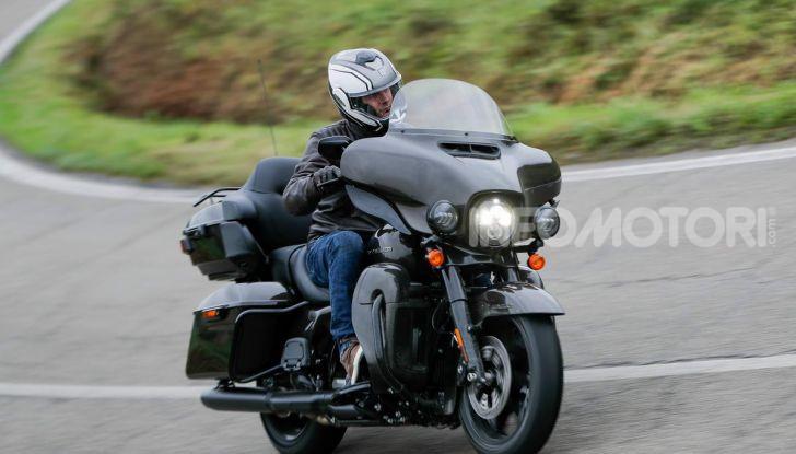 Prova gamma Touring 2020 Harley-Davidson: tecnologia e tradizione! - Foto 54 di 84
