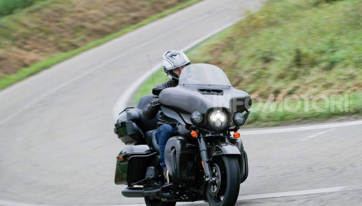 Prova gamma Touring 2020 Harley-Davidson: tecnologia e tradizione! - Foto 60 di 84