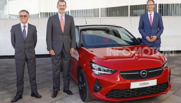 Opel Corsa: al via la produzione della sesta generazione - Foto 2 di 5