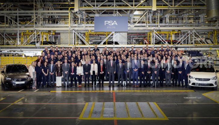 Opel Corsa: al via la produzione della sesta generazione - Foto 3 di 5