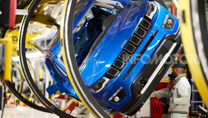 """FCA, prodotti a Melfi i modelli """"green"""" di Jeep Renegade e Compass - Foto 1 di 20"""